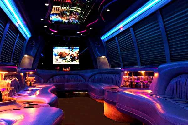 18 passenger party bus rental Birmingham